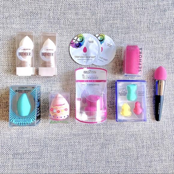 Makeup Sponge Bundle | Sephora, Real Techniques, Maybelline, Face Secrets